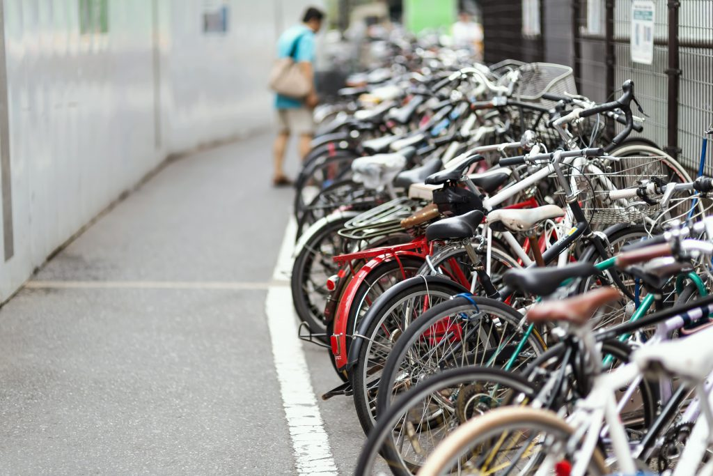 自転車・バイク置き場で土地活用